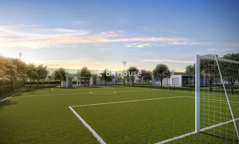 Perspectiva Ilustrada do Mini Campo de Futebol