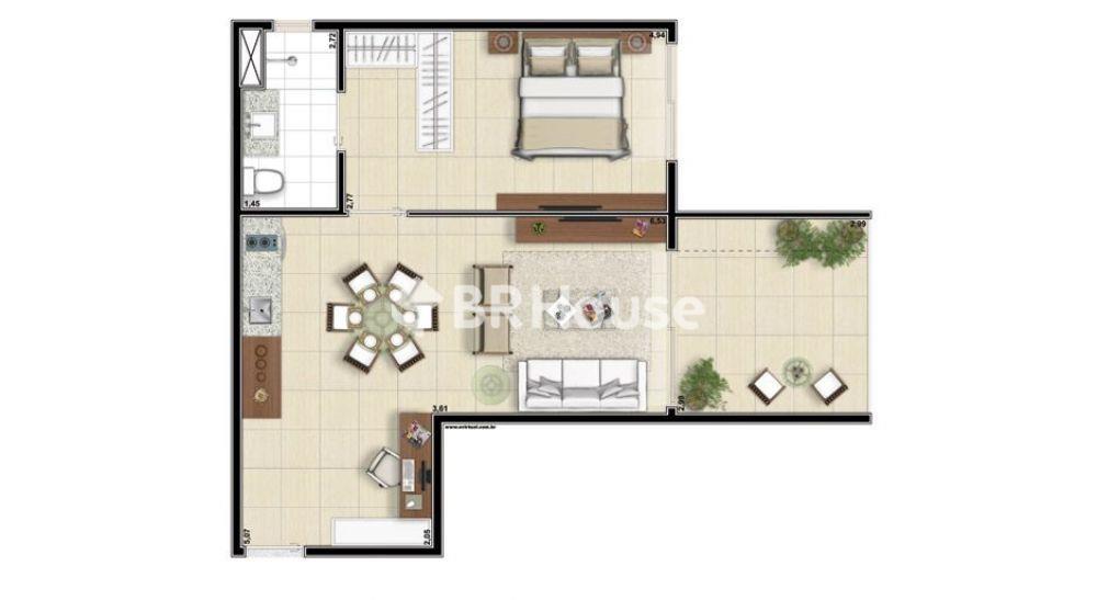 apartamento de 57,91m²